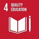 SDGs logo, Quality Education