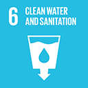 SDGs logo, Clean Water and Sanitation
