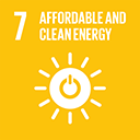 SDGs logo, Affordable and Clean Energy