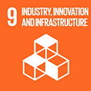 SDGs logo, Industry, Innovation and Infrastructure