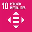 SDGs logo, Reduced Inequalities
