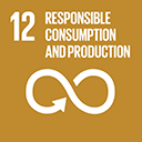 SDGs logo, Responsible Consumption and Production